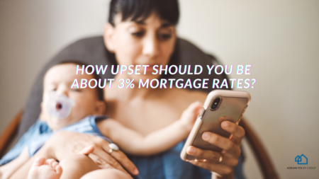 How Upset Should You Be about 3% Mortgage Rates?