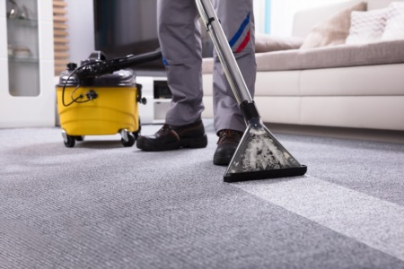 What is living on your carpet?