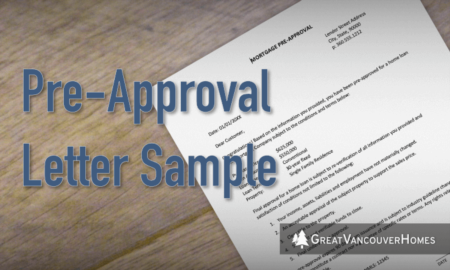 Pre Approval Letter [Sample + How to Get One]