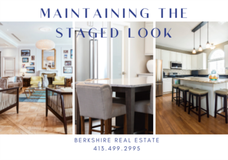 Maintain the Staged Look While Your Home Is Listed