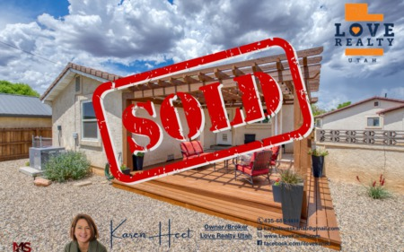 SOLD in Kanab! Under contract in 6 days at full asking price!