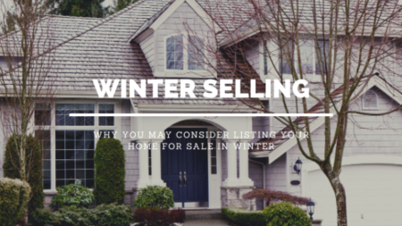 Winter Selling- Reasons You Should Consider