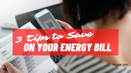 3 Tips to Save on Your Energy Bill...