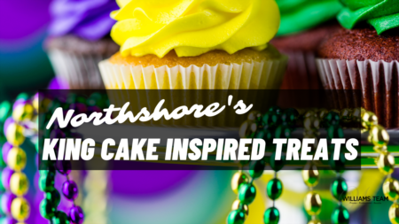 Northshore's King Cake Inspired Treats