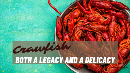 Crawfish- Both a Legacy and a Delicacy