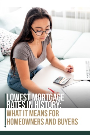 Lowest Mortgage Rates in History!