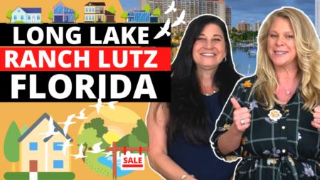 Long Lake Ranch neighborhood in Lutz FL
