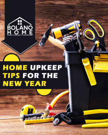 Home Maintenance for the New Year