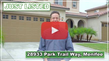 VIDEO: 28933 Park Trail Way, Menifee
