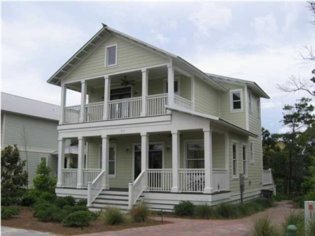 Short Sale at Preserve at Grayton Beach has a free flowing open floor plan
