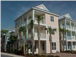 The Villages of Crystal Beach Foreclosure 3 stories, corner lot