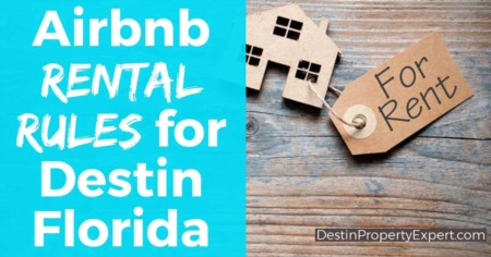 Airbnb rental rules for Destin Florida