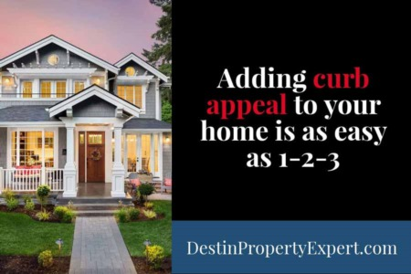 Adding Curb Appeal to Your Home is as Easy as 123