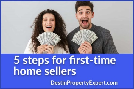 5 Steps for First-time Home Sellers