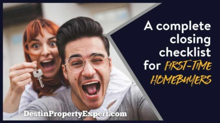 A Complete Closing Checklist for First-Time Home Buyers?