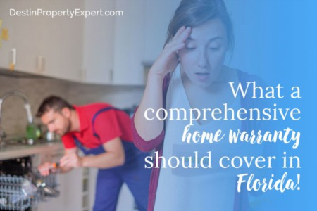 What a comprehensive home warranty should cover in Destin