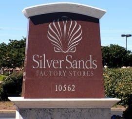 Silver Sands Outlet Mall hot deals