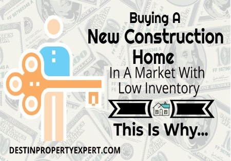 Buying a New Construction Home in a Market With Low Inventory - This Is Why You Should