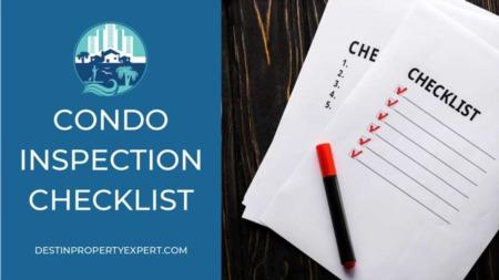 Condo Inspection Checklist 2020