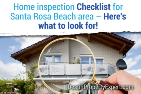 Home Inspection Checklist for Santa Rosa Beach Area: Here's What To Look For