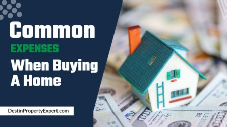 Common expenses when buying a home