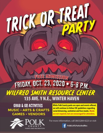 Trick Or Treat Party - Today - October 23rd
