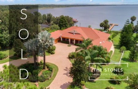 JUST SOLD: 2485 Lake Front Drive in Lake Wales Florida - Lake Walk In Water