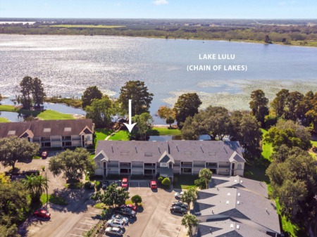 Winter Haven Chain of Lakes Condo For Sale - 2180 San Marcos Circle - Park Lake