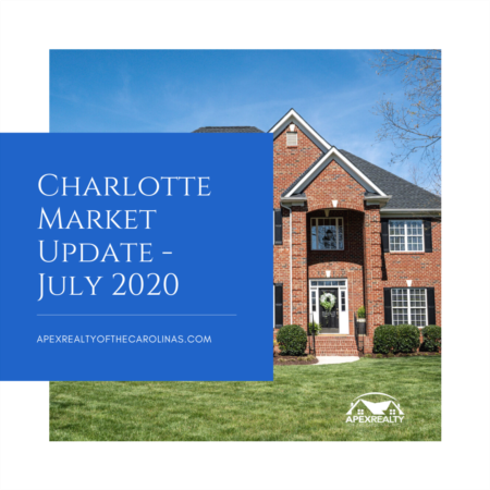 Charlotte Area Market Stats – July 2020 | Apex Realty of the Carolinas