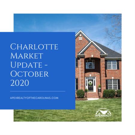 Charlotte Area Market Stats – October 2020 | Apex Realty of the Carolinas