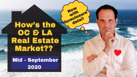Los Angeles & Orange County Housing Market Update - mid-September 2020