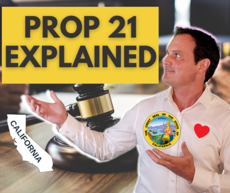 What is proposition 21? What are prop 21 pros and cons?