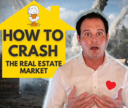 How to crash the real estate market 2021? How it happened in 2008 - Part 1