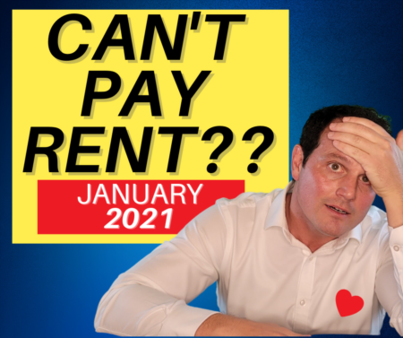 Can't pay rent for January 2021? Help for Tenants & Landlords!