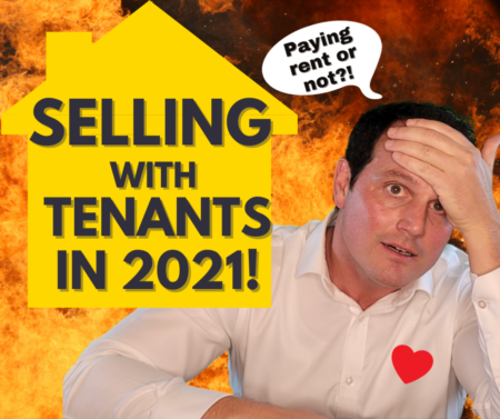 Selling property with tenants during COVID - even if not paying rent!