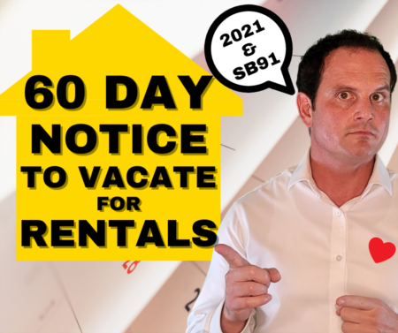 60 Notice to Terminate Tenancy: Guide for California landlords and tenants