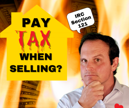 Real estate capital gains tax, avoiding taxes when selling a house!