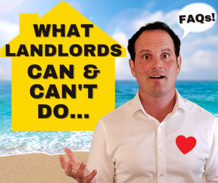 What a landlord cannot do - Guide for California Landlords & Tenants