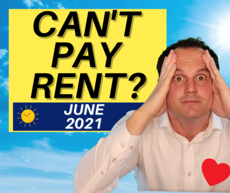 Can't Pay Rent - Rental Assistance for Tenants & Landlords in June 2021!