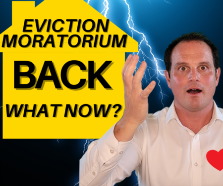 CDC Eviction Moratorium is BACK! How to see if Eviction Moratorium applies to you