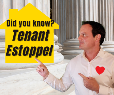 Tenant Estoppel Certificate: ESSENTIAL tips when buying or selling with tenants