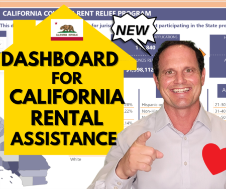 NEW California Rental Assistance Dashboard - Guide for emergency rental assistance