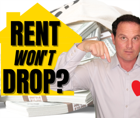 Rent going UP in the housing market crash?