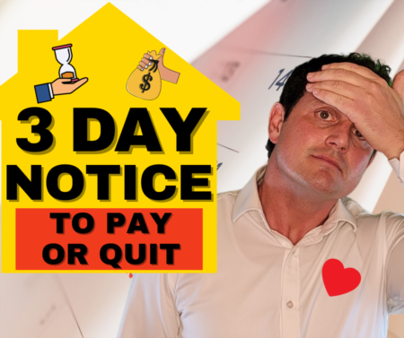 NEW! 3 Day Notice to Pay or Quit - Tips for California Landlords