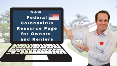 U.S. Government's New Coronavirus Resource Website for Mortgage and Housing Assistance