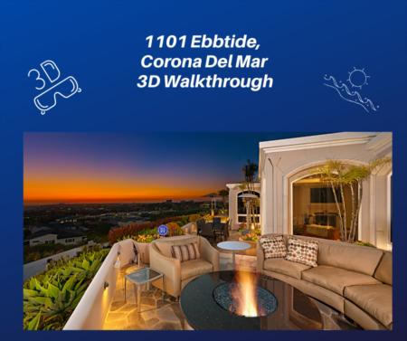 1101 Ebbtide, Corona Del Mar 3D Walkthrough