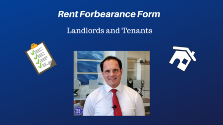 Rent Forbearance Form for Landlords and Tenants