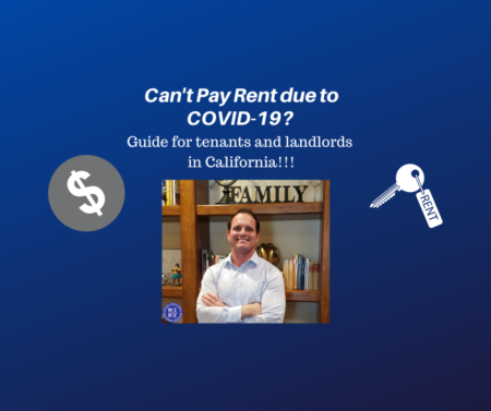 Can't Pay Rent due to COVID-19? Guide for tenants and landlords in California