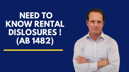 Rental Disclosures..what you need to know!