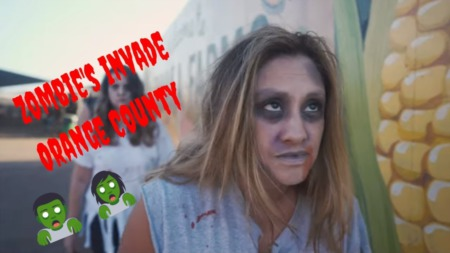 Zombie's Invade a Local Hot Spot!